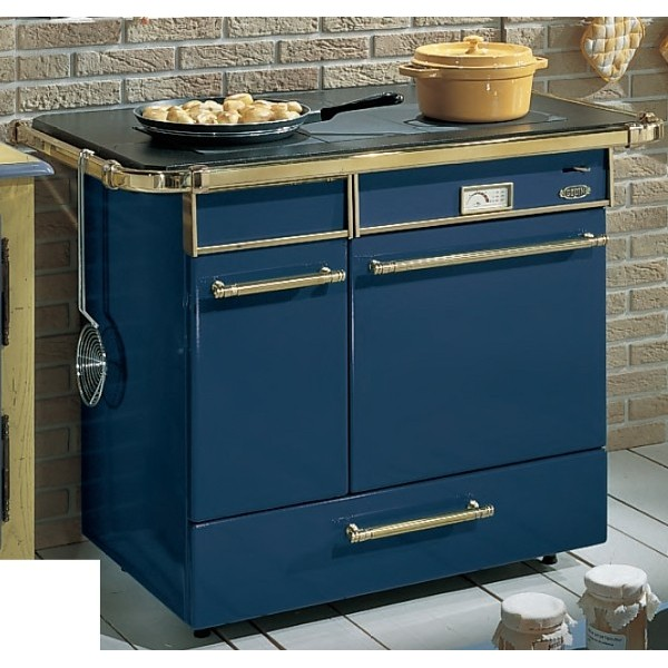 cuisiniere godin 6755 rustique bleu chatelaine. Black Bedroom Furniture Sets. Home Design Ideas